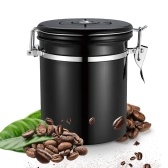 Stainless Steel Airtight Canister Coffee Bean Canister