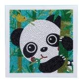 DIY 5D diamante pintura lindo Panda patrón 150x150mm