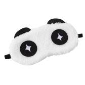 Cartoon Eyeshade Lovely Expression Style Eye Mask Viaggio Uso domestico Morbido sonno confortevole Benda