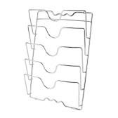Soportes para tapas de ollas montados en la pared
