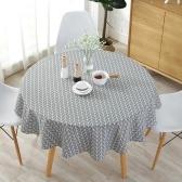 Смешанная ткань для круглого стола из терилена и хлопка в стиле Северной Европы
