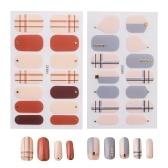 2 fogli adesivi per unghie con impacchi completi