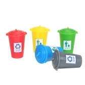 Miniature Garbage Cans Painted Garbage Cans Model