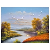 Pintura al óleo DIY de 16 x 20 pulgadas sobre lienzo