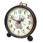 European Fashion Personality Retro Alarm Clock Beside Noiseless Metal Alarm Table Clock Student Alarm Clock 550-19