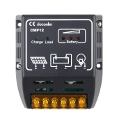 Docooler Солнечный Контроллер Заряда Солнечной Батареи Панели Регулятор Надежной Защиты 10A 12V/24V