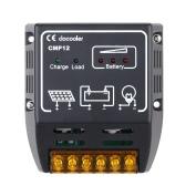 Docooler Solar Laden Regler Solar Panel Batterie Regler Sicherer Schutz 10A 12V/24V