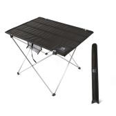 Mesa plegable plegable portátil Mesa de camping al aire libre Picnic 7075 Aleación de aluminio Ultra-luz