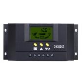 30 a 12V/24V régulateur de Charge solaire PWM LCD affichage de charge Auto régulateur batterie système pour la Compensation de température d
