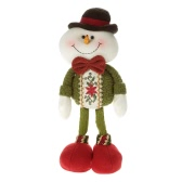 Festina Wysokiej klasy Lovely Christmas Stuffed Toy Delikatny Adorable Standing Santa Clause Renifer Snowman Xmas Doll Christmas Decoration