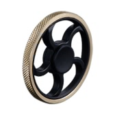 Volant en forme de doigt New Style Mini Main Round Spinner Fidget EDC Widget focus Toy pour Killing Time Stress Anxiété Soulager TDAH Ennui High Speed