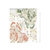 33 '' * 55 '' Japanische Art-Tür-Vorhang-Segeltuch-Raum-Tür-Privatleben Noren Vorhang-Tapisserie-Ausgangsdekoration mit Spannungs-Stange - Welle