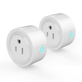2Pack Smart Wi-Fi Mini Outlet Plug Switch работает с Echo Alexa Remote Control US Plug