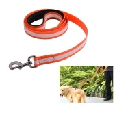 SSL004TY TPU Glow Waterproof Dog Leash Night Safety Dog Leash Lead dla średnich i dużych psów