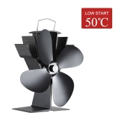 Eco Friendly Quite Heat Powered Kuchenka Wentylator Fireplace Fan Fan Diffuse