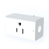 WiFi Smart Home Plug Mini Sans Fil Intelligent Socket US Plug Minuterie Interrupteur Power Remote Control Home Appliance de Partout par Smart Phone APP Soutien pour Amazon Alexa Echo / Google Home Pas de Hub requis