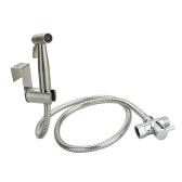 1 / 2inch Bidé Conjunto de rociador de baño Set de rociador de bidé de mano-Ducha de mano de baño para autolimpieza