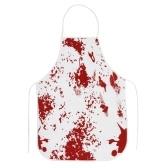 Ужас Кровавый скатерть Кровавый отпечаток Печатная картина Скатерть