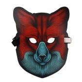 LED Glow Mask activé
