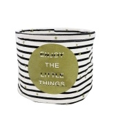 Water-Resistant Lovely Cloth Art Storage Bucket
