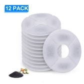 Cat Water Fountain Filters Replacement Filters for Flower Fountain Cat Water Fountain Water Dispenser 12PCS
