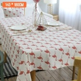 Bird Cotton Linen Table Cover