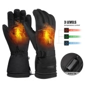 Heating Warm Gloves Electric Ski Gloves 3 Level Temperature Control for Climbing Skiing