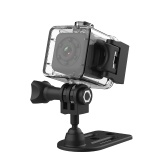 Mini Camcorder Full HD Monitor Detection IR Night Vision TF Card Sport Recorder Camera with Holder