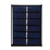 0.3W 3V Mini Panel Solar de Silicio Policristalino Célula Solar Pequeña DIY Impermeable Camping Portátil Panel Solar