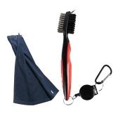 Golf Club Kit de cepillo y toalla Golf Club Cleaner