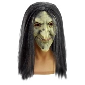 Halloween Old Witch Mask Halloween Scary  Cosplay Props