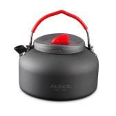 Bollitore da esterno Camping Picnic Water Teapot Caffettiera 0.8L Alluminio Pot