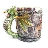 Gorący Unikalne wysokiej jakości stali nierdzewnej Royal Dragon Kawa Piwo Milk Cup Kubek Kufel Nowość do dekoracji prezent