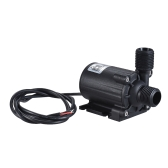Submersible Brushless Ultra-quiet Compact Size Oil Water Pump Dual Outlets Max. Lift 5M 1000L/H DC 24V for Fish Tank Aquarium Fountain Circulating