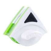 Треугольно-магнитный очиститель окон Многофункциональный двухсторонний стеклянный ластик Противоскользящий ручной инструмент для очистки рук