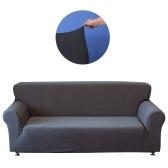Uniwersalny poliester elastan rozkładana sofa Cover Strapless narzuty Removable Zmywalny mata do siedzenia Protector dla 1-osobowa sofa - biały