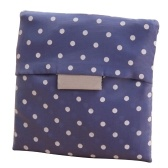 Cute Lady Plegable Recycle Bag Eco reutilizables bolsas de compras grandes