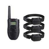 183 Dog Training Collar Waterproof Rechargeable Bark-stop Anti Barking Remote Control Electric Shock Bark Deterrents