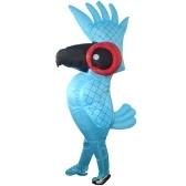 Accessoires gonflables de perroquet drôle de perroquet d