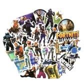 40st Fortnite Nacht Spiel PVP-Spiele Graffiti-Kunst Aufkleber starke Haftung Aufkleber