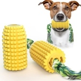 Corn Dog Chew Toys Teeth Cleaning Dental Toy Corn-Shaped Dog Rope Toy Tough Interactive Dog Toys