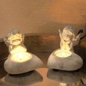 クリスマス燭台ホルダー角型キャンドルホルダー