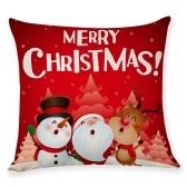 Weihnachten Serie Kissen Kissenbezug Platz Kissenbezüge Sofa Dekoration Cartoon 18 x 18in
