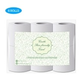 High Quality Log Household Paper Tissue Rolls Thickened Roll Toilet Soft And Comfortable Paper Daily Necessities