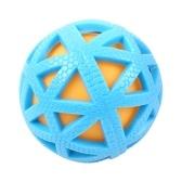 Brinquedo de mastigação de bolas para cães de estimação Squeaker Sonoro Resistente a mordidas de brinquedos para dentes de cachorro