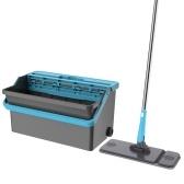 Flat Microfiber Mop and Bucket Set