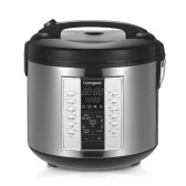 Homgeek 5L High-end Professional 20 Cup Cooked (10 cup uncooked) Rice Cooker with Food Steamer