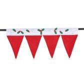 Nette Weihnachtsfenster Drape-Panel Dekorative Weihnachten Tür-Fenster-Vorhänge Pennant Bunting Valance Weihnachtsdekoration Supplies