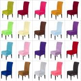 Универсальный съемный моющийся эластичной ткани Stretch крышка стула 20 Чехол цветов Главная Столовая отеля Свадебный банкет Декорации для вечеринок