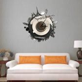 15.7 * 15.7 '' bricolaje 3D pared removible pegatina de cuarzo pared del movimiento pegatinas decorativos salón decoración de la decoración del dormitorio